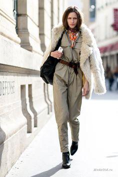 Уличная мода: Уличный стиль Парижа на неделе моды осень-зима 2015-16