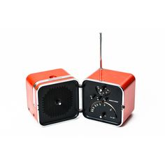 Radio TS502 designer Zanuso - Sapper produzione Brionvega anno 1964 portatile colore arancione funzionante in plastica - Elettronica Vintage