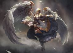 Angel Knight by GilbertBeilschmidt0