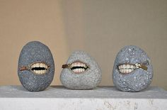 Rock art by Hirotoshi Ito