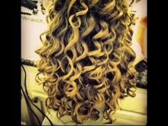 Curly Girl Method demonstrated by Lorraine Massey, author of The Curly Girl Handbook