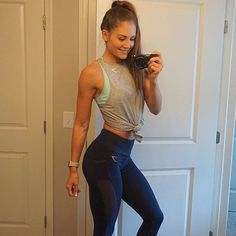 When your workout hair pony is on point  Gymshark.com