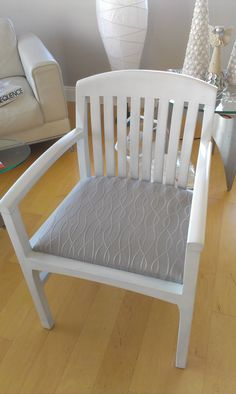 Refinished chair