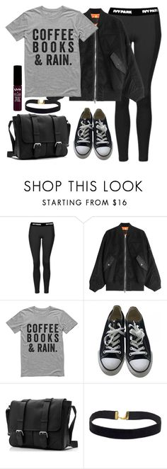 Untitled #1590 by anarita11 on Polyvore featuring Alexander Wang, Topshop, Converse and NYX