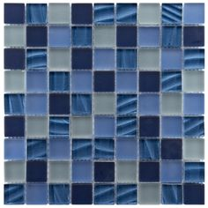 @Overstock - The elegant and gorgeous appeal of blue mosaic wall tiles makes the perfect addition to any room. Featuring a beautiful blend of frosted blue tiles and rippled pearl blues, this sophisticated wall tile will liven the decor of any room. http://www.overstock.com/Home-Garden/Somertile-Maritime-Abalone-Glass-Mosaic-Wall-Tiles-Pack-of-10/6143535/product.html?CID=214117 $149.99
