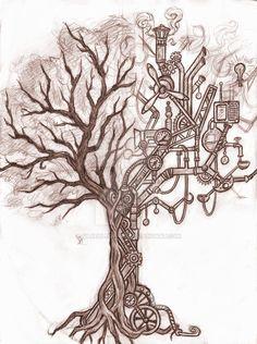 steampunk tree - Buscar con Google