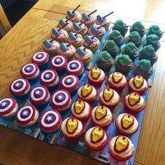 Avengers Birthday Cakes, Hulk Birthday, Superhero Birthday Party, Birthday Party Games, 4th Birthday Parties, Birthday Cupcakes, Birthday Ideas, Spider Man Birthday, 3rd Birthday