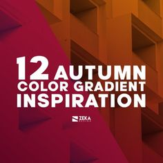 32 Beautiful Color Gradient Inspiration | ZEKA DESIGN What Is Graphic Design, Minimalist Graphic Design, Graphic Design Books, Best Logo Design, Graphic Design Projects, Graphic Design Inspiration, Book Design, Color Inspiration, Corporate Logo Design