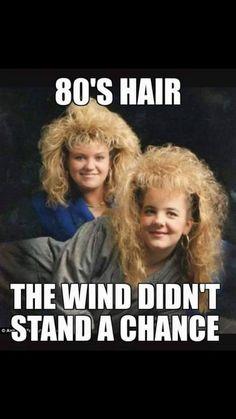 80s Hair Nostalgia