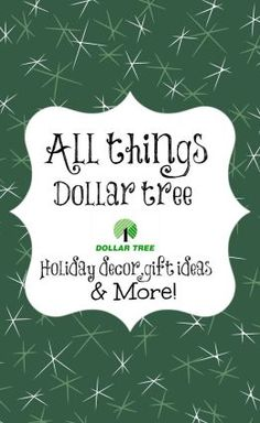 Dollar tree Christmas crafts, decor and more. Over 100 inspiring ideas.