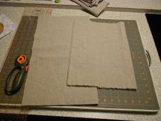 Make Canvas Pillow Covers