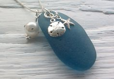 Jewelry Idea...sea glass & charms