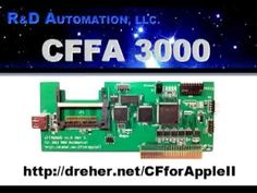 CFFA3000. Compact flash storage for Apple ][ computers. No more flaky floppies.
