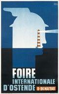 Verbaere, Herman. Foire Internationale  d'Ostende, 1948 http://www.internationalposter.com/style-primer/art-deco.aspx