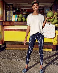 MAR '14 Style Guide: J.Crew Minnie pant in foulard and the Biella tassel loafers.