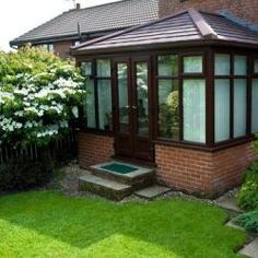 Edwardian Conservatory Roof, available with various finished looks. Making a beautiful addition to any house and garden.