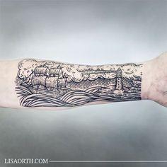 002-lisaorth-tattoo-thomas-ship-lighthouse