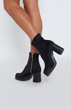 39578a028adb Current Mood Tension Boots Black Black High Waisted Shorts