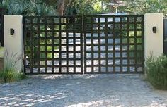 Image result for contemporary steel gates