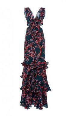 Poppea Sabina Embellished Tie Dress by Johanna Ortiz Trendy Dresses, Elegant Dresses, Beautiful Dresses, Tie Dress, Dress Up, Dress Long, Sheath Dress, Dress To Impress, Evening Dresses