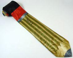 Fun pencil necktie for teacher