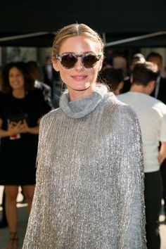 Olivia Palermo attends the Valentino Haute Couture Fall 2016 show as part of Paris Fashion Week on July 6, 2016 in Paris