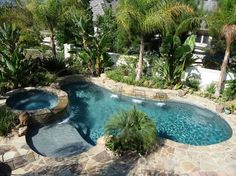 Sun Country Pools has been the preferred builder in Orange County for almost 30 years. Check out our portfolio to see why, Backyard Pool Landscaping, Backyard Pool Designs, Swimming Pools Backyard, Pool Spa, Swimming Pool Designs, Garden Pool, Lap Pools, Indoor Pools, Pool Decks