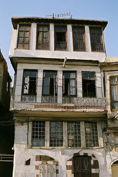 Old house, Christian Quarter, Straight Street, Damascus, Syria