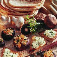 Feta and Tarragon Pita Toasts
