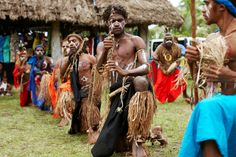 Locals in Lifou, New Caledonia.