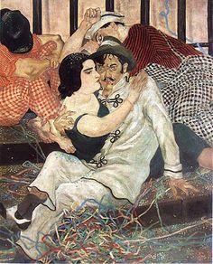 Couples et duos chez Léonard Foujita,(Tsuguharu Foujita)