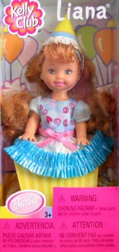 Barbie Kelly Birthday Party Surprise LIANA Doll (2001 Kelly Club) Kelly Club http://www.amazon.com/dp/B002XVB170/ref=cm_sw_r_pi_dp_kSuXtb14W8C7ERRN