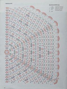 Her Crochet - Her Crochet Débardeurs Au Crochet, Crochet Chart, Filet Crochet, Crochet Doilies, Crochet Stitches, Crochet Scarves, Crochet Clothes, Crochet Shawl Diagram, Crochet Triangle Scarf