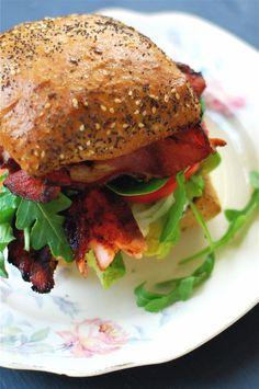 Receta de Sandwich de queso en crema y salmón ahumado