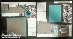 then and now Scrapbook Layouts | Get Scrappin: For Always Scrapbook Layout