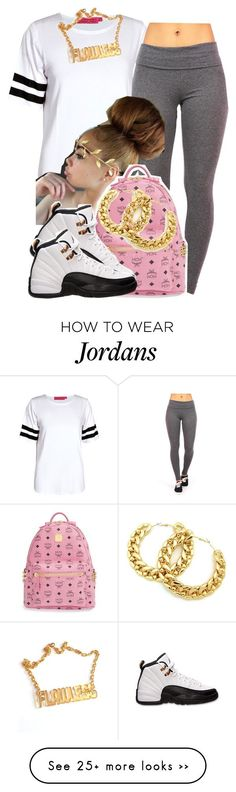 """."" by trillest-queen on Polyvore featuring Boohoo and MCM"