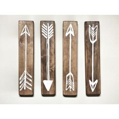 https://www.etsy.com/listing/255737816/rustic-white-wooden-arrows-4-piece-set