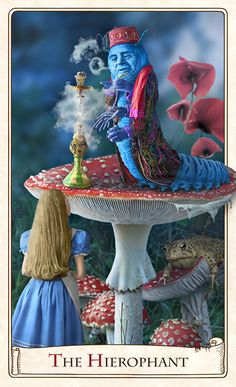 Alice in Wonderland The Hierophant