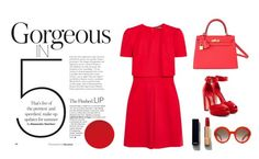 """""""Gorgeous in 5"""" by thatgirlwholovesit on Polyvore featuring Alexander McQueen, Hermès and Chanel"""