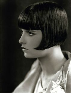 Louise brooks made this the flawless bob famous no one wears it