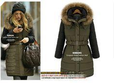 Style & Starbucks wears our Faux Fur Parka Jacket http://www ...