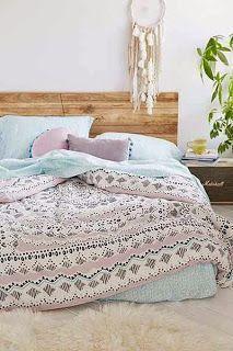 That Boho Chick: Bedding:
