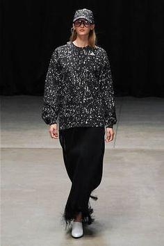 HYKE × adidas Lace Skirt, Sequin Skirt, Vogue Fashion, Japanese Fashion, Hyke, Fashion Forward, Normcore, Adidas, Womens Fashion