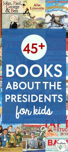 With the presidential election coming up soon, teach your child about the presidents. These 45 books from Learn in Color will help your students learn about the amazing presidents we've had in the United States. If you are teaching about the election, teach them about the past presidents. Enjoy this list today! #learning #teaching #virtualteaching #virtualeducation #books #booksforkids #electionforkids Presidents Book, American Presidents, Pre-school Books, Good Books, Magic Treehouse, Toddler Books, Early Literacy, Chapter Books