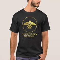 Anishinabek Nation T-Shirt #thunderbird #firstnations, First Nations Ojibwe Symbol Emblem