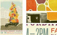Douglas Richard / design poster typography collage illustration