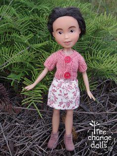 Tree Change Doll 88 OOAK repainted restyled by TreeChangeDolls