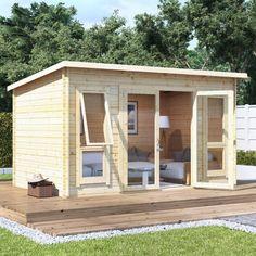 BillyOh Carmen Log Cabin Summerhouse - Summer Houses - Garden Buildings Direct