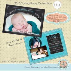 2013 Spring Baby Collection. $15.00, via Etsy.