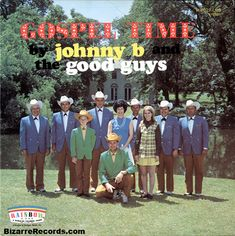 """From the Back Cover:    """"Johnny 'B' and The Good Guys play and sing for all kinds of groups, county fairs, rodeos, conventions, charity organizations, churches, private and public gatherings of varied interest. Since most of their performance is for religious groups, they have been persuaded by Rainbow Records to record a gospel album, country and western style"""""""